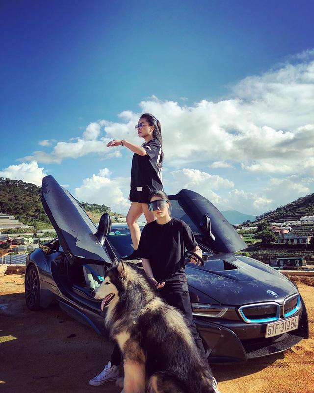 Hot girl 9x xuất hiện bên cạnh một loạt siêu xe, xe thể thao đình đám ở Việt Nam là ai? - Ảnh 7.