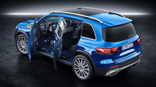 Ra mắt Mercedes-Benz GLB - SUV 7 chỗ đàn em GLC mang đầy bất ngờ