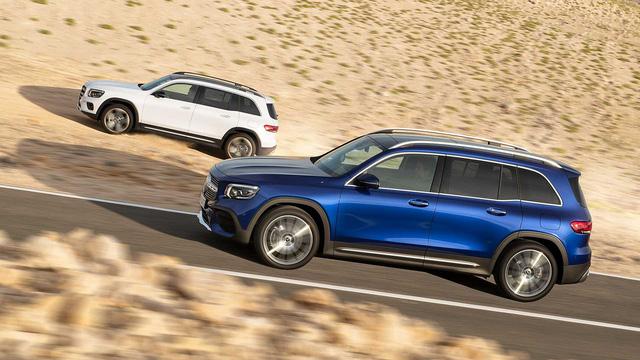 Ra mắt Mercedes-Benz GLB - SUV 7 chỗ đàn em GLC mang đầy bất ngờ - Ảnh 1.