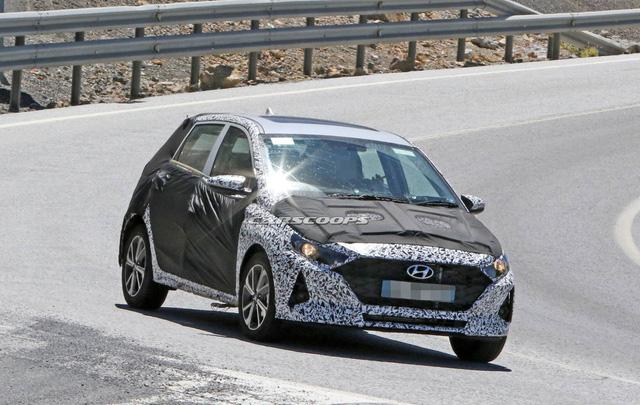 Nhiều thay đổi lớn chuẩn bị xuất hiện trên phiên bản 2020 của Hyundai i10 - Ảnh 5.