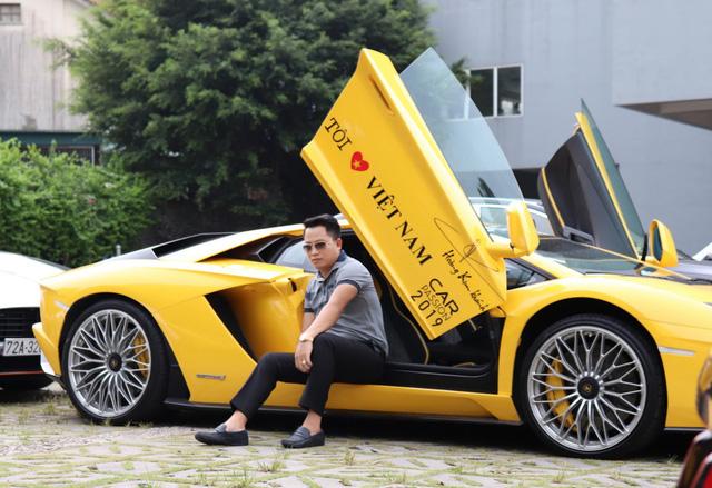 Đại gia Hoàng Kim Khánh bất ngờ mang Lamborghini Aventador S trở lại Car Passion 2019 - Ảnh 1.