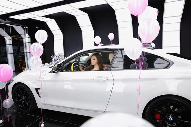 Thúy Vi khoe ảnh tậu BMW 420i giá 2 tỷ đồng, thẳng thắn nói về tin đồn giàu có nhờ làm gái ngành - Ảnh 5.