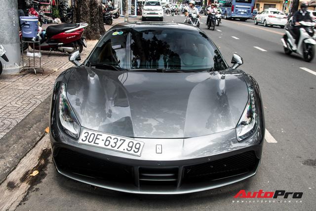 Sau nhiều năm 'chuyển khẩu' từ Nam ra Bắc, Ferrari 488 GTB đầu tiên Việt Nam về tay chủ showroom siêu xe có tiếng tại Sài Gòn