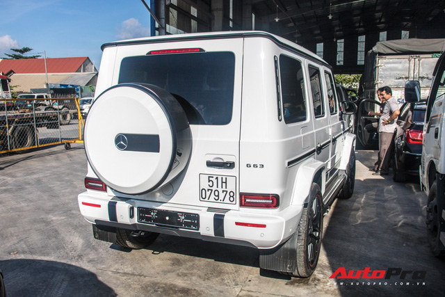 Mercedes-AMG G63 Edition 1 của doanh nhân Phạm Trần Nhật Minh chính thức có biển số - Ảnh 5.