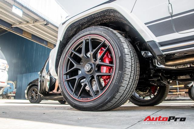 Mercedes-AMG G63 Edition 1 của doanh nhân Phạm Trần Nhật Minh chính thức có biển số - Ảnh 6.