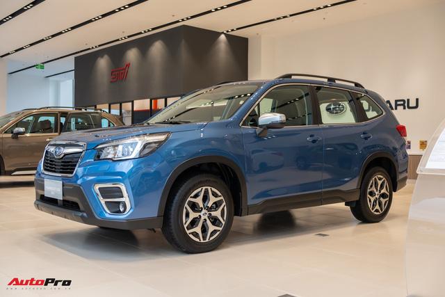 Khám phá Subaru Forester 2019 bản tiêu chuẩn giá ưu đãi 990 triệu đồng - có gì hơn Mazda CX-5 và Honda CR-V? - Ảnh 1.
