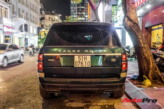 Range Rover Autobiography 2019 màu độc trực rỡ trên đường phố Sài Gòn - Ảnh 9.