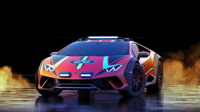 Lamborghini chuẩn bị đưa Huracan đa địa hình vào sản xuất - Ảnh 1.
