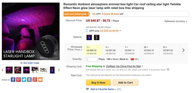 Rộ thú chơi 'độ' bầu trời sao kiểu Rolls-Royce với chi phí hơn 200.000 đồng - Ảnh 5.