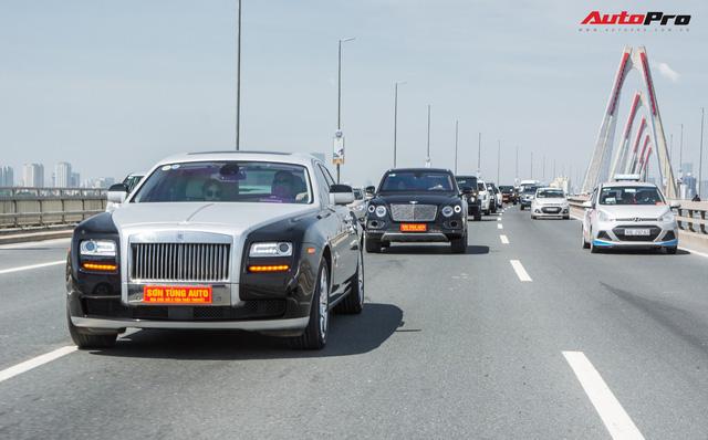 Dàn siêu xe, xe thể thao và xe siêu sang trị giá cả trăm tỷ diễu hành trên phố Hà Nội - Ảnh 7.