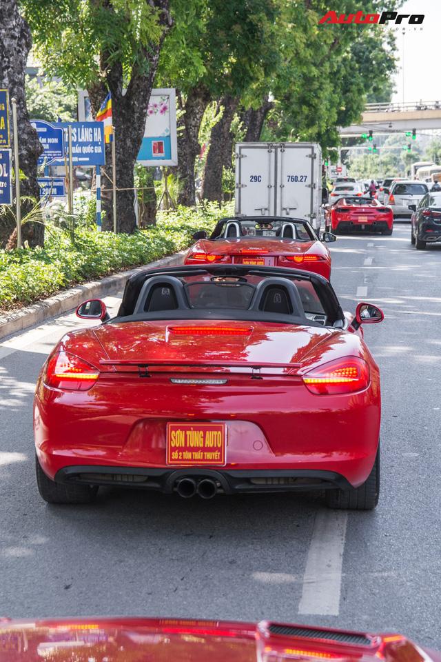 Dàn siêu xe, xe thể thao và xe siêu sang trị giá cả trăm tỷ diễu hành trên phố Hà Nội - Ảnh 14.