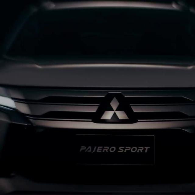 Mitsubishi Pajero Sport 2019 nhá hàng trước ngày ra mắt 25/7, hứa hẹn tăng sức cạnh tranh Toyota Fortuner - Ảnh 1.