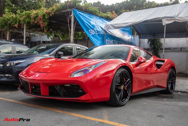 Ferrari 488 GTB của Tuấn Hưng hồi sinh, xuất hiện trên phố với diện mạo lạ lẫm - Ảnh 4.