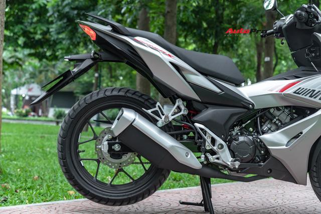 Chi tiết hàng loạt điểm mới trên Honda Winner X giá từ 46 triệu đồng: Đủ mạnh để áp đảo Yamaha Exciter? - Ảnh 9.