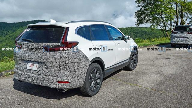 Honda CR-V 2020 lần đầu xuất hiện với 3 phiên bản, tăng sức cạnh tranh Mazda CX-5 - Ảnh 4.