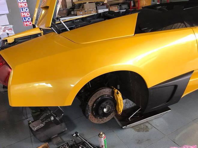 Lamborghini Murcielago mui tran doc nhat Viet Nam do nhieu do choi truoc khi len duong Car Passion 2019