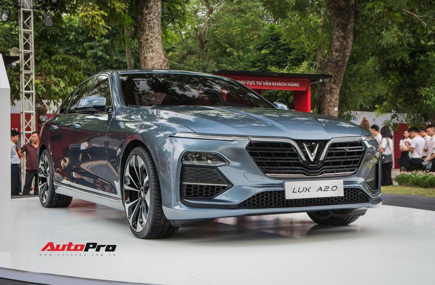 Đánh giá nhanh VinFast Lux A2.0: Sedan hạng E duy nhất Việt Nam có giá dưới 900 triệu đồng - Ảnh 7.