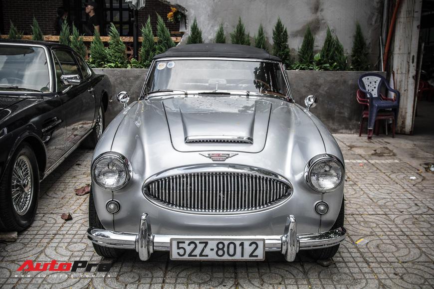 Hàng hiếm Austin-Healey 3000 Mk II 55 năm tuổi của dân chơi Sài Gòn - Ảnh 5.