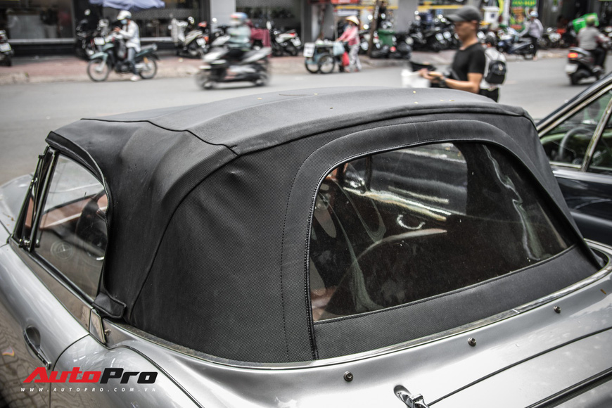 Hàng hiếm Austin-Healey 3000 Mk II 55 năm tuổi của dân chơi Sài Gòn - Ảnh 8.