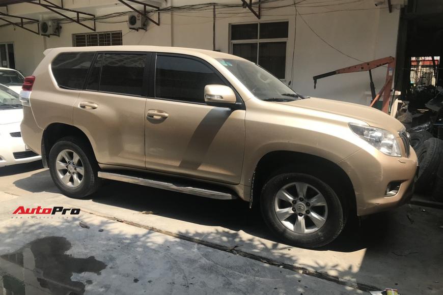 Hành trình 2 tháng mổ xẻ Toyota Land Cruiser Prado 2011 để dọn và nâng đời 2018 với chi phí hơn 300 triệu đồng - Ảnh 1.