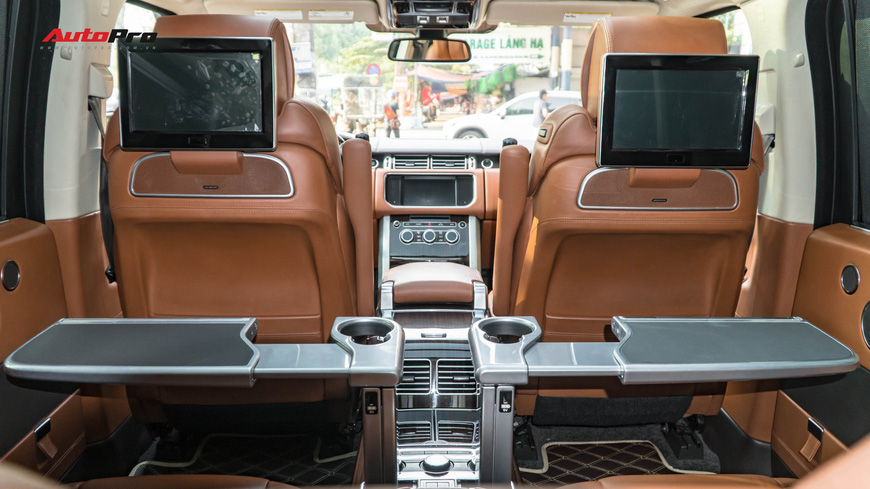 Range Rover Autobiography LWB Black Edition giá 8 tỷ - Giá của xe hiếm chỉ sản xuất 100 chiếc - Ảnh 12.