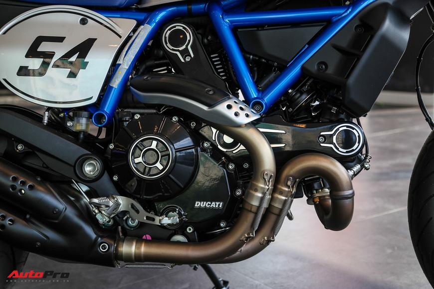 Ducati Scrambler Cafe Racer 2019 giá hơn 410 triệu đồng đầu tiên về Việt Nam - Ảnh 10.
