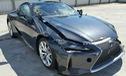 Đây có lẽ là chiếc xe sang Lexus LC500 2018 đầu tiên gặp nạn trên toàn thế giới