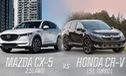 [Infographic] So sánh Mazda CX-5 và Honda CR-V bản cao cấp nhất vừa ra mắt tại Việt Nam