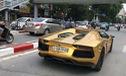 Bắt gặp Lamborghini Aventador mui trần