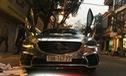 Mazda6 độ cửa cắt kéo, đính logo Mustang, dán decal bóng loáng đón Tết