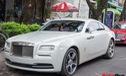 Rolls-Royce Wraith Series I màu lạ xuất hiện tại Hà Nội