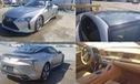 Dính mưa đá, chiếc Lexus LC500 gần mới toanh này được bán tháo với giá rẻ gây sốc