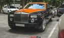 Chiếc Rolls-Royce Phantom tại Hà Nội đổi màu nhanh như tắc kè: Vừa hết tím mộng mơ lại đến cam cá tính