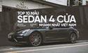 Đây chính là 10 sedan 4 cửa nhanh nhất tại Việt Nam