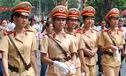 Cảnh sát giao thông nữ - làn gió mới tại thủ đô dịp Đại lễ