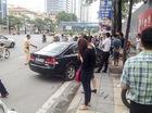 Hà Nội: Phụ nữ trẻ lái Honda Civic gây tai nạn liên hoàn