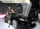 """Diện váy lưới hở """"bạo"""", Thanh Hằng xuất hiện với tư cách Đại sứ Audi"""