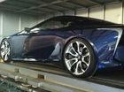 Xe coupe hạng sang Lexus LF-LC bất ngờ có mặt tại Việt Nam