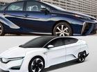 """Cạnh tranh """"sát sàn sạt"""", Toyota và Honda cùng giới thiệu xe thải ra nước"""