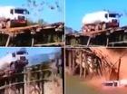 Lái xe bồn qua cầu gỗ chưa bao giờ là ý tưởng hay