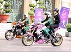 Siêu mẫu Thanh Hằng khuấy đảo Sài thành cùng Honda CBR1000R Hello Kitty