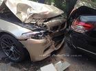BMW 5 Series gây tai nạn kinh hoàng trên đại lộ Nguyễn Văn Linh