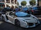 """Lamborghini Veneno Roadster của """"cô gái may mắn nhất năm"""" dạo phố Thụy Sỹ"""