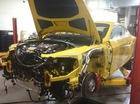 Hé lộ hình ảnh xe Bentley tan nát sau chương trình Top Gear