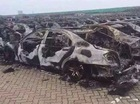 Có cả Mercedes-Benz S-Class độ Brabus bị thiêu rụi trong vụ cháy Thiên Tân