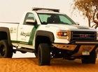 Cảnh sát Dubai tậu thêm xe bán tải GMC Sierra 2015