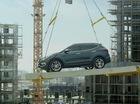 Hyundai khoe công nghệ của Santa Fe 2016 tại công trường