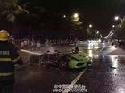Gặp nạn ở 160 km/h, Lamborghini Gallardo bốc cháy cùng người lái
