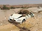 Xót xa với xe sang Maserati Quattroporte bị bỏ rơi trên bờ sông