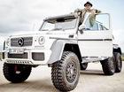 """Lewis Hamilton ngấp nghé mua """"hàng khủng"""" Mercedes-Benz G63 AMG 6x6"""